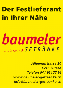 Baumeler Getränke Festpartner